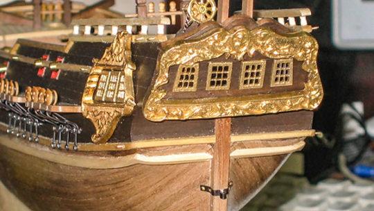 Постройка фрегата «President» из коробки 2
