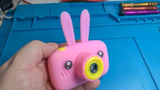 Детский фотоаппаратик